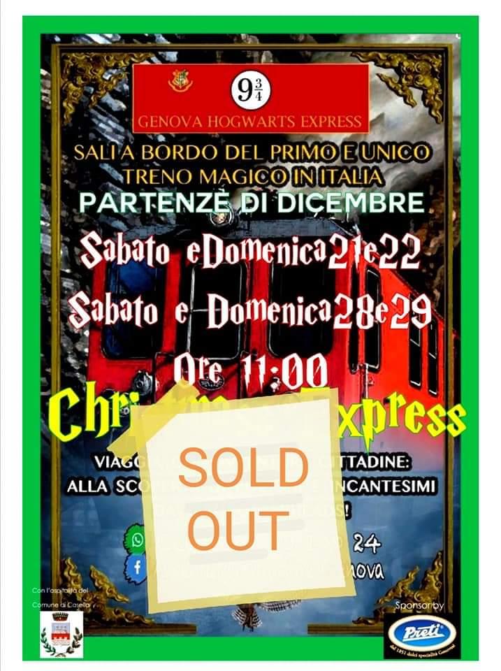 Christmas Express 21, 22, 28 e 29 Dicembre