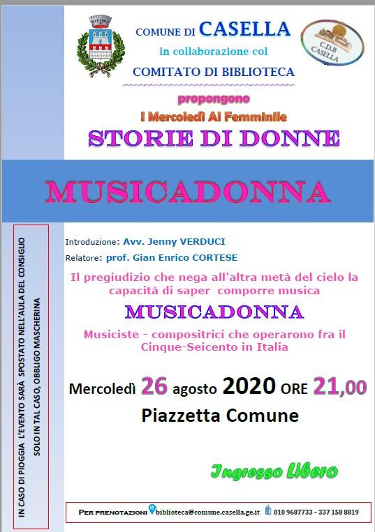 CdB - Musica Donna